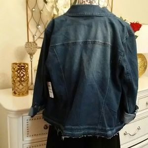 Style & Co Jackets & Coats - Style & Co Jean Jacket